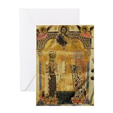 Armenian King and Queen Greeting Card