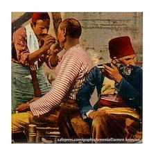 Ottoman Barbers Tile Coaster