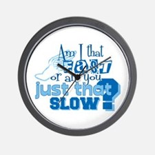 Am I that fast you slow? Wall Clock