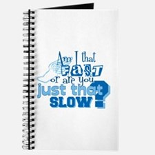 Am I that fast you slow? Journal