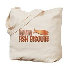 Mmm Fish Biscuits Tote Bag