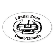 Dumb Thumbs Decal