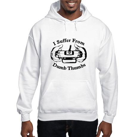 Dumb Thumbs Hooded Sweatshirt