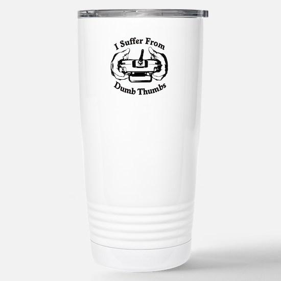 Dumb Thumbs Stainless Steel Travel Mug