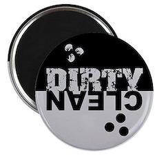 Dirty/Clean Dishwasher black/silver Magnet