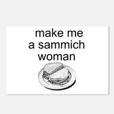 Sammich Postcards (Package of 8)