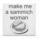 Sammich Tile Coaster