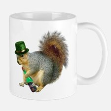 Irish Drinking Squirrel Mug