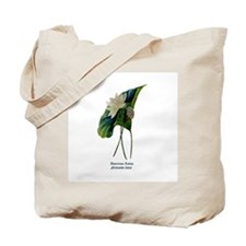 American Lotus Tote Bag