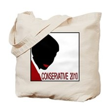 CONSERVATIVE WOMAN 2 Opaque Background Tote Bag