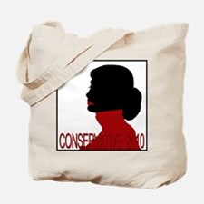 Conservative Woman 1 Opaque Background Tote Bag