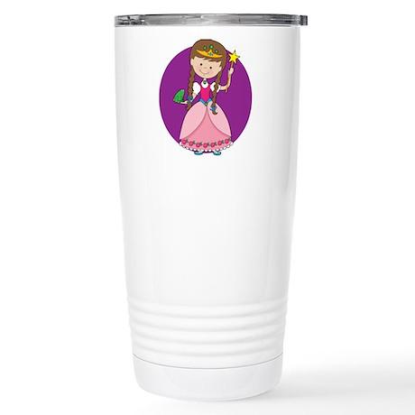 Princess and Frog Stainless Steel Travel Mug