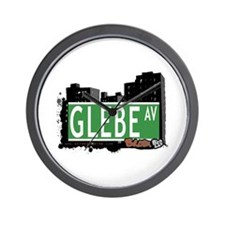 Glebe Av, Bronx, NYC Wall Clock
