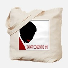 Tea Party Conservative 2010 Tote Bag