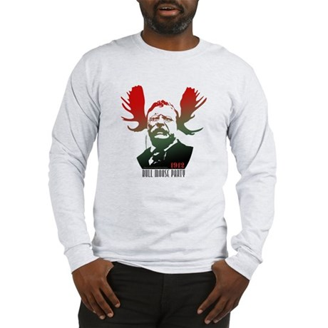 Bull Moose Party Long Sleeve T-Shirt