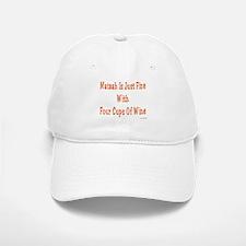 Matzah & Wine Passover Baseball Baseball Cap