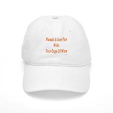 Matzah & Wine Passover Baseball Cap