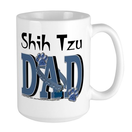 Shih Tzu DAD Large Mug