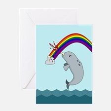 narwhalbg Greeting Cards