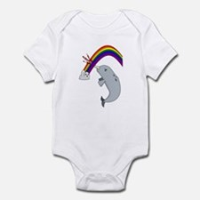 Cute Narwhals are awesome Infant Bodysuit