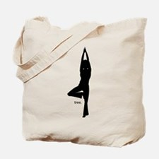 Unique Asana pose Tote Bag