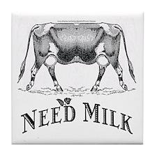 Need Milk Tile Coaster