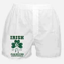 Irish Pub Boxing Boxer Shorts