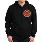 Rise Up Revolution Zip Hoodie (dark)