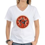 Rise Up Revolution Women's V-Neck T-Shirt