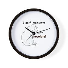 Medical Chocolate B Wall Clock