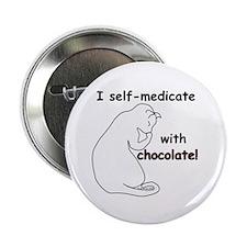"Medical Chocolate B 2.25"" Button"