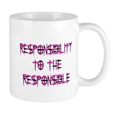 Responsibility Mug (Pink)