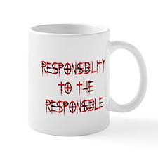 Responsibility Mug (Red)