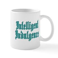 Intelligent Indulgence Mug (Teal)