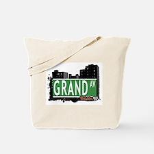 Grand Av, Bronx, NYC Tote Bag
