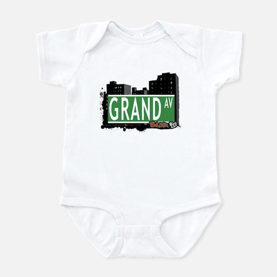 Grand Av, Bronx, NYC Infant Bodysuit