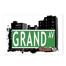 Grand Av, Bronx, NYC Postcards (Package of 8)