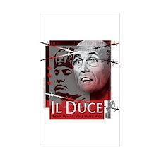 Rudy Giuliani Sticker (Rectangular)
