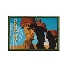 Rapa Nui Easter Island TIKI Rectangle Magnet