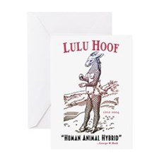 Lulu Hoof Greeting Card