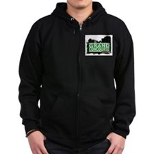 Grand Concourse, Bronx, NYC Zip Hoody