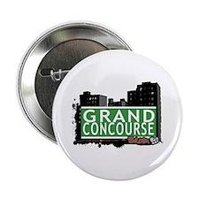 "Grand Concourse, Bronx, NYC 2.25"" Button"