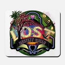 Lost TV Destiny Calls Island Green Mousepad