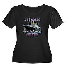 Titanic Neon (black) T