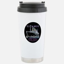 Titanic Neon (black) Travel Mug