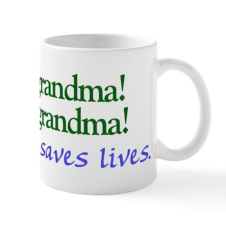 Let's eat Grandma! Mug