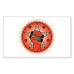 Rise Up Revolution Sticker (Rectangle 50 pk)