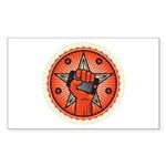 Rise Up Revolution Sticker (Rectangle 10 pk)