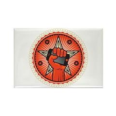 Rise Up Revolution Rectangle Magnet
