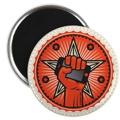 Rise Up Revolution Magnet